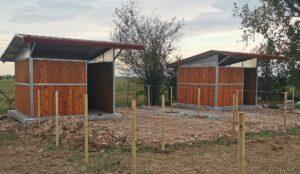 capannine mobili per cavalli