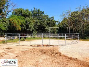 Tondino in fence