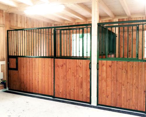 Box per cavalli da interno